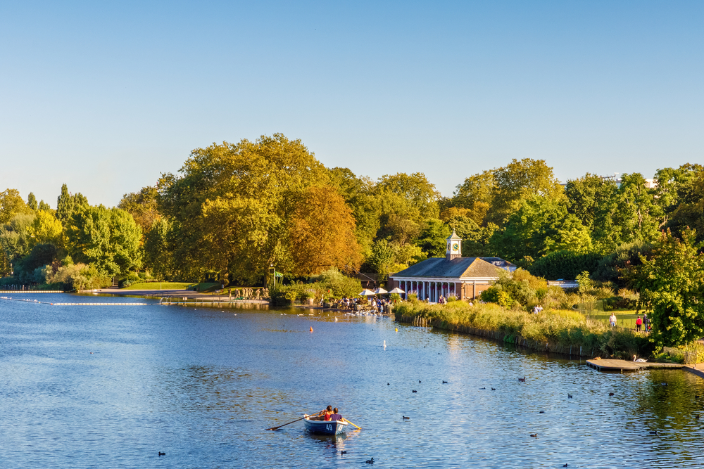 Serpentine Hyde park