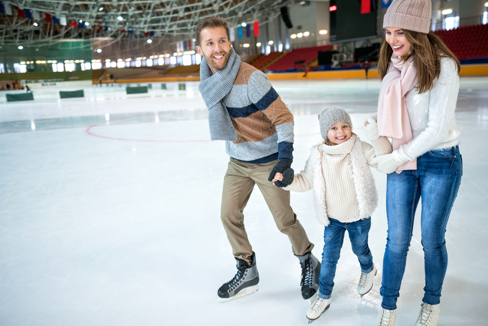 Ice Rink in london