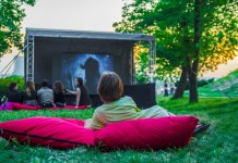 open air cinema london
